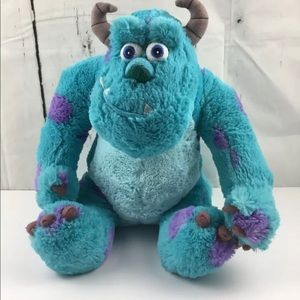 Authentic Disney Monsters Inc. Sully Plush 16""